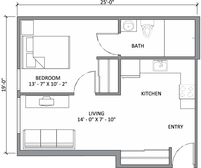 Accessible One Bedroom